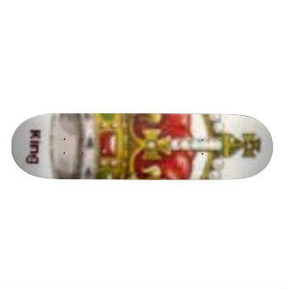 crown skateboard deck