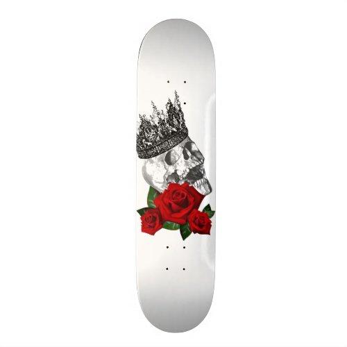 CROWN SKULL ROSE Skateboard