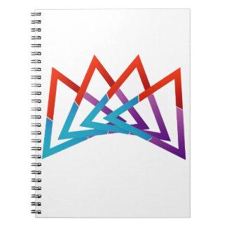 Crown Spiral Notebook