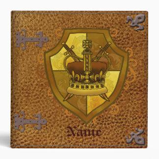 Crown Sword Shield custom name binder