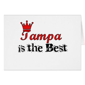 Crown Tampa Greeting Card
