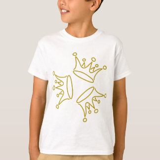 crown-three-gold T-Shirt