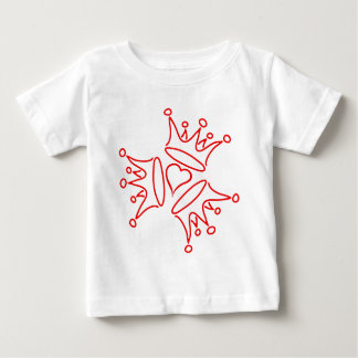 crown-three-heart baby T-Shirt