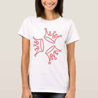 crown-three-red T-Shirt