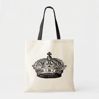 Crown Tote Budget Tote Bag