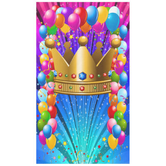 Crown Vertical Banner, Photo Prop, Tablecloth 2