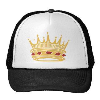 Crown With Jewels de un rey de oro Gorra