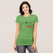 Crowndit italian women t shirt