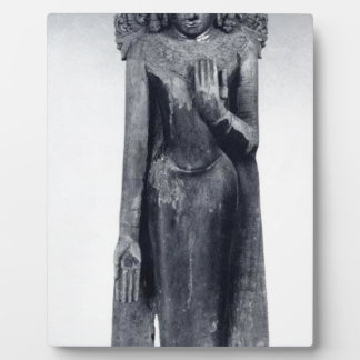 Crowned Buddha - Pagan period Plaque