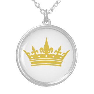 Crowned Charm Necklace