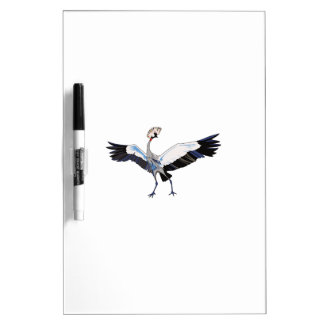 CROWNED CRANE DRY ERASE WHITEBOARDS