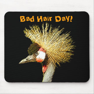 Crowned Crane from Junglewalk.com Mouse Pad