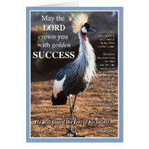 Crowned Crane Success