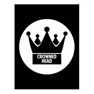 Crowned Head Postcard