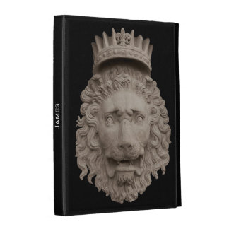 Crowned Lion iPad Case Template