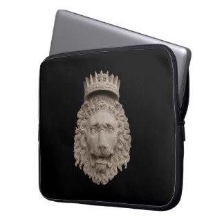 Crowned Lion Laptop Sleeve