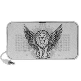 Crowned Lion Portable Speaker