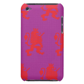 Crowned Lion Red Magenta iPod Touch Cover