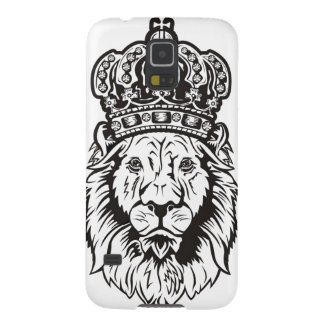 Crowned Lion's Head Galaxy S5 Covers
