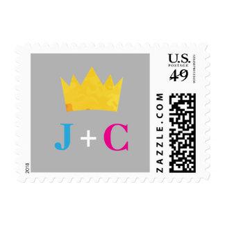 Crowned Monogram Postage