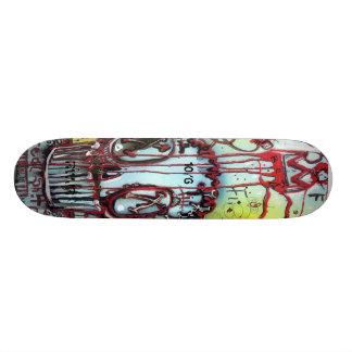 CROWNED muffYN Custom Skate Board