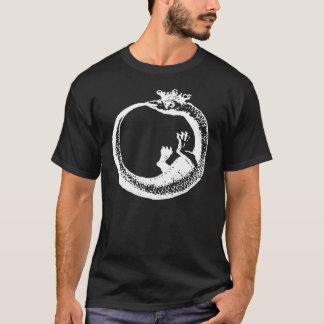 Crowned Ouroboros White T-Shirt