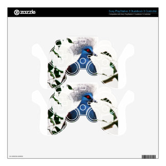 Crowned Pigeon PS3 Controller Skin