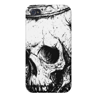 Crowned skull iphone4 case