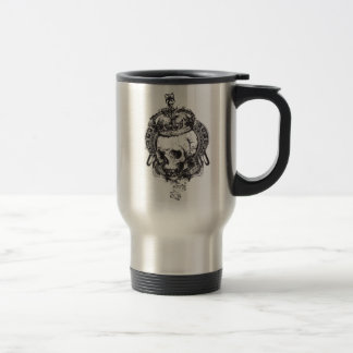 Crowned Skull Travel Mug