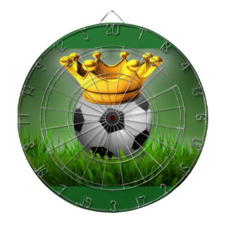 Crowned Soccer Dart Board