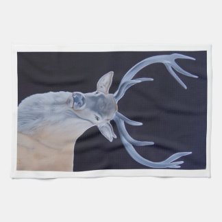 ' Crowning Glory ' Stag tea towel. Kitchen Towel