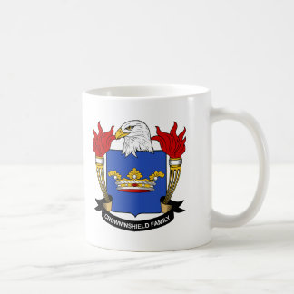 Crowninshield Family Crest Coffee Mug