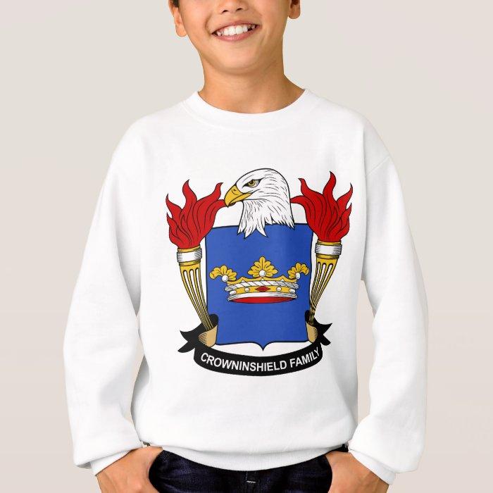 Crowninshield Family Crest Sweatshirt