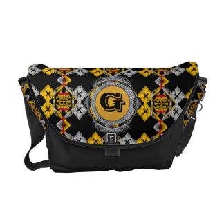 Crowns and Crosses Designer Bag Courier Bags