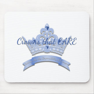 Crowns that CARE Mouse Pad