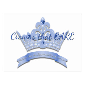 Crowns that CARE Postcard