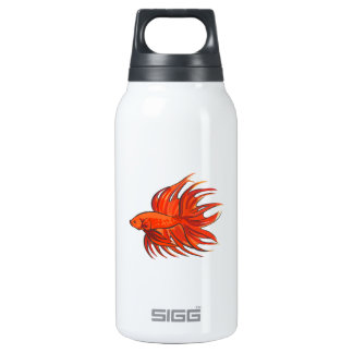 CROWNTAIL BETTA FISH THERMOS WATER BOTTLE
