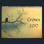 """Crows 2017 calendar<br><div class=""""desc"""">Full sized crow images made from my photographs throughout this 2017 calendar.</div>"""