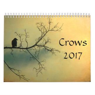 Crows 2017 calendar