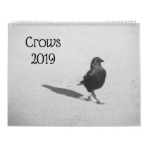 Crows 2019 calendar