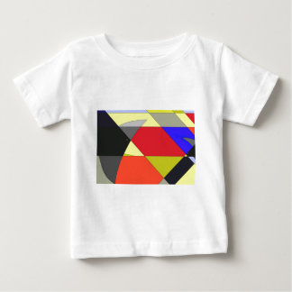 Crows abstract design t shirt