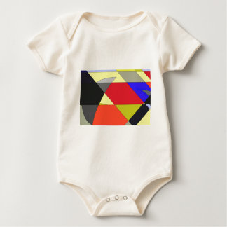 Crows abstract design t shirt baby jumpsuit