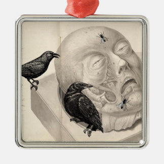 Crows and corpse ornaments