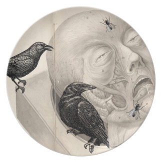 Crows and corpse dinner plates