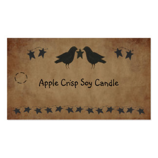 Crows and Stars Hang Tag Double-Sided Standard Business Cards (Pack Of 100)