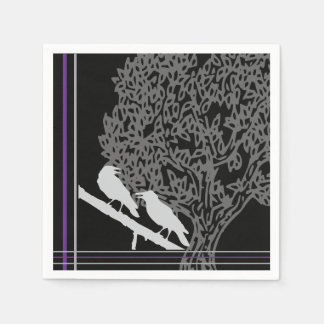 Crows' Anniversary Napkin