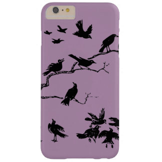 Crows Barely There iPhone 6 Plus Case