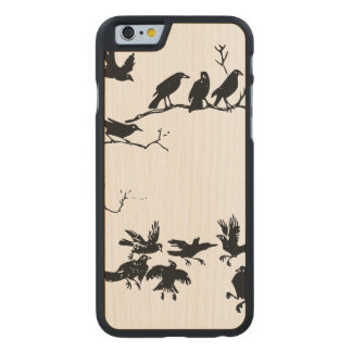Crows Carved® Maple iPhone 6 Case