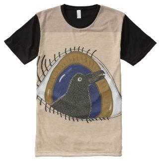 Crow's Eye All-Over Print T-shirt