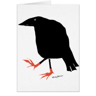 Crow's Feet Greeting Cards